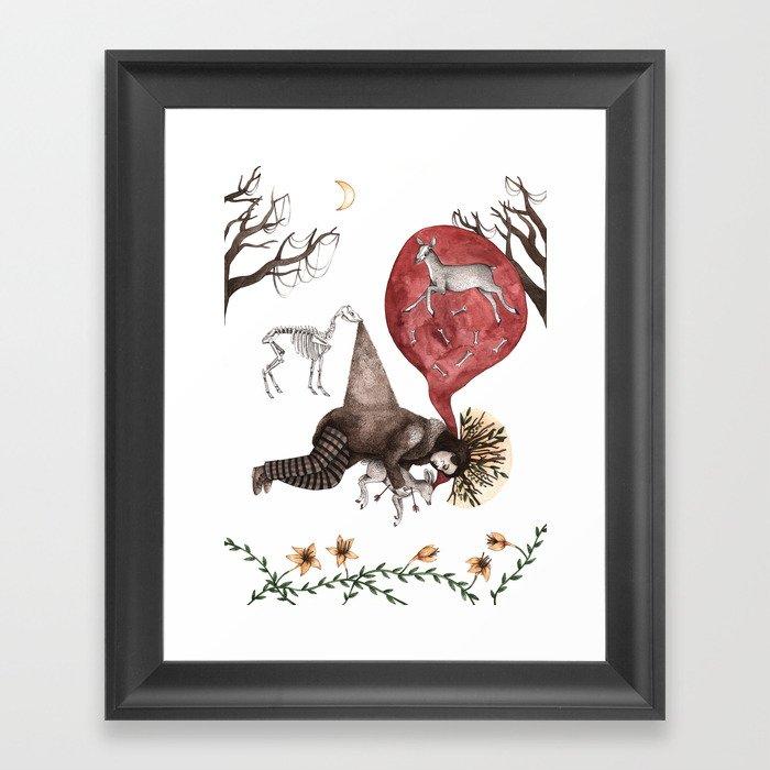 Dead Man Framed Art Print
