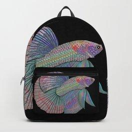 A Beautiful Betta Fish Backpack