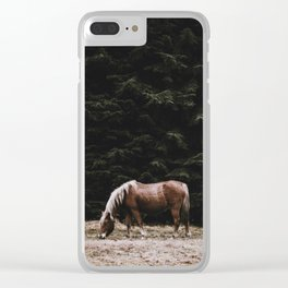 Wild Horse II Clear iPhone Case