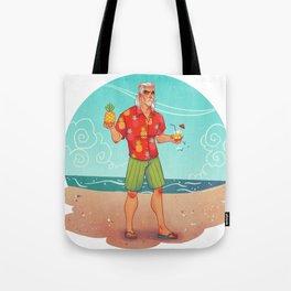 Grampa Geralt on Holiday Tote Bag