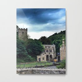The Lourdes of Wales - iPhoneography Metal Print