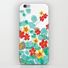 Nasturtiums iPhone & iPod Skin
