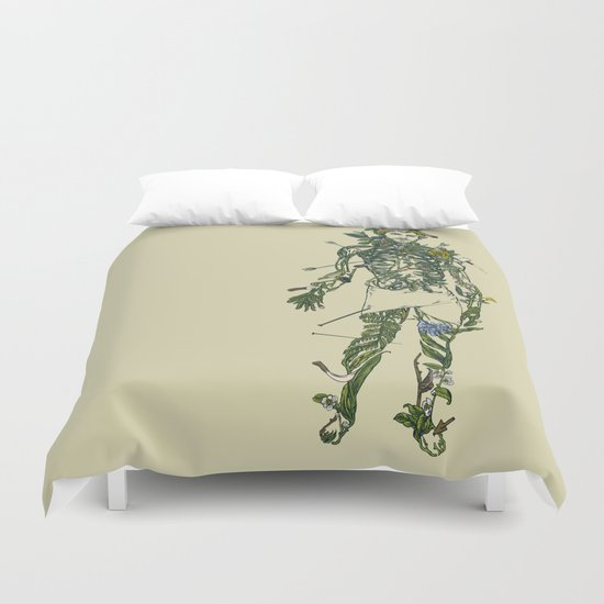 Wound Man Duvet Cover