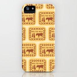 Malted Milk Medley iPhone Case
