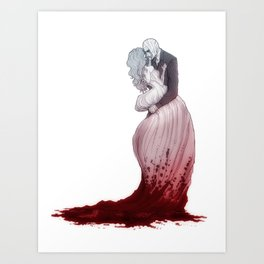 Love suicide Art Print