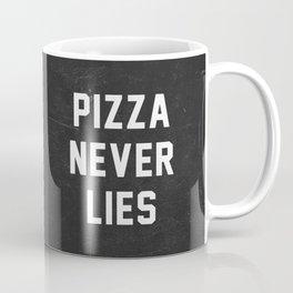 Pizza Never Lies Coffee Mug