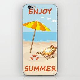 enjoy summer iPhone Skin