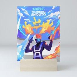 Todoroki Shouto Mini Art Print