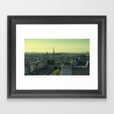 Green Hues Framed Art Print