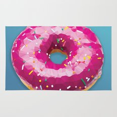 Lowpoly Donut Rug