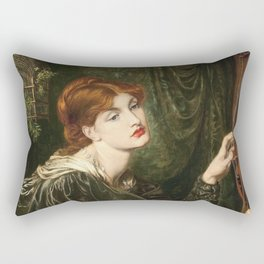 Dante Gabriel Rossetti - Veronica Veronese Rectangular Pillow