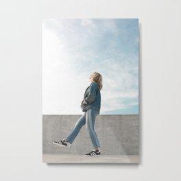 don't lose your balance. Metal Print
