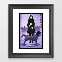 Sympathy for Lady Vengeance [limited color] Framed Art Print