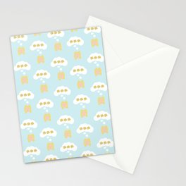 Thinking About Waffles Stationery Cards