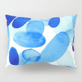 Beach Glass Blue Pillow Sham