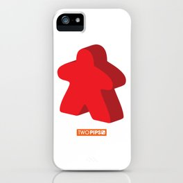 Large and in Charge Meeple iPhone Case