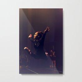 Leaping Olivia Metal Print