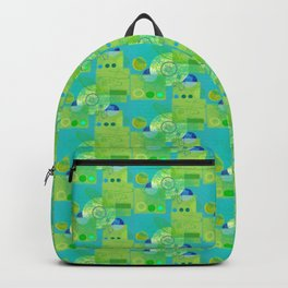 Trucks Wheels and Swirls Backpack