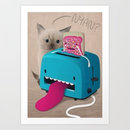 Pop Tart Art Print