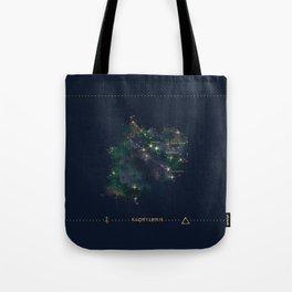 Sagittarius Constellation Tote Bag