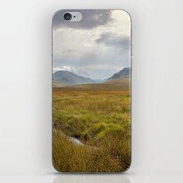 Glencoe, Scottish Highlands iPhone Skin