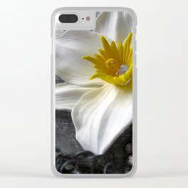 Frost Queen Clear iPhone Case