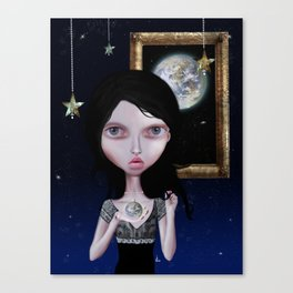 Heart of Milk Way Canvas Print