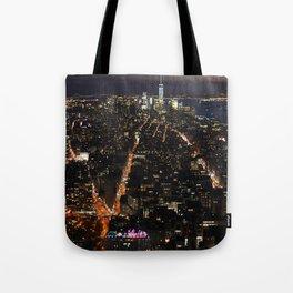 New York of lights Tote Bag
