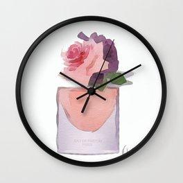EAU DE PARFUM V.1 Wall Clock