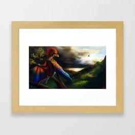 Intruder Framed Art Print