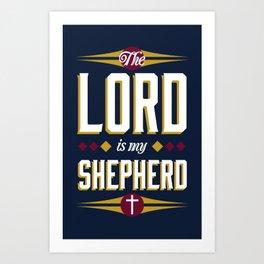Ps. 23:1 Art Print