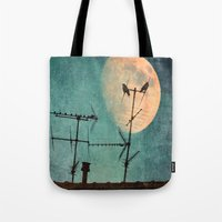 guardians Tote Bags featuring THE GUARDIANS by MadiS