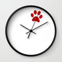 Paw Love Catahoula Leopard Dog Wall Clock