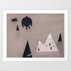 monsters are coming. Art Print
