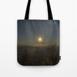 Sunset in the Smokeys Tote Bag