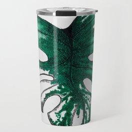 Monstera variegata Travel Mug