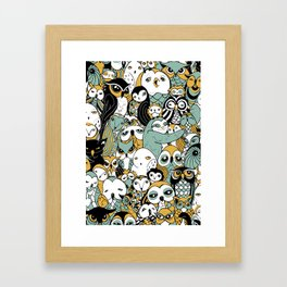 Parliament in Session Framed Art Print