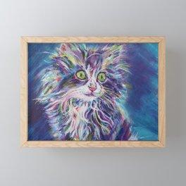 Cutest kitten Framed Mini Art Print