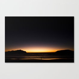 Waves Goodnight Canvas Print