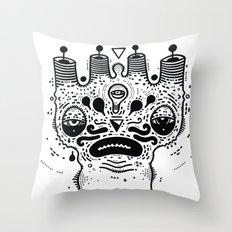 sad dood Throw Pillow