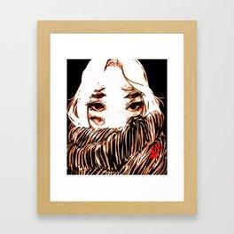 Hey Eight Eyes Framed Art Print