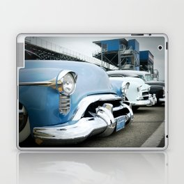 CLASSIC CARS AT THE TRACK Laptop & iPad Skin