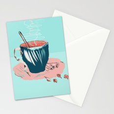 coffee with love Stationery Cards