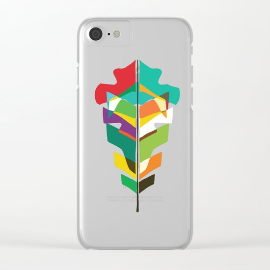 Before the last leaf falls Clear iPhone Case