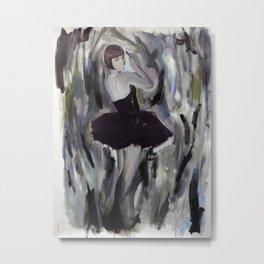 Silent Dancer Metal Print