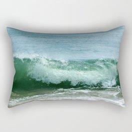 Crash of green Rectangular Pillow
