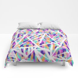 Justine Abstract Comforters