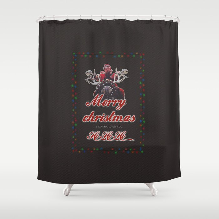 I Wanna Wish You A Merry Christmas.I Wanna Wish You Merry Christmas Shower Curtain By Laurenvauren