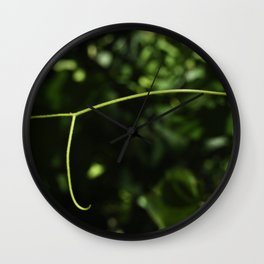 wild grape vine Wall Clock