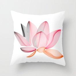 Lotus national Vietnam Throw Pillow
